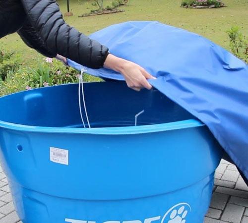 Limpar a Caixa D'água